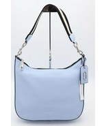 NWT Marc Jacobs Gotham City Blue Leather Hobo Shoulder Bag New  $495 - $245.00