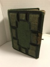 1860s Empty Photo Album Harding Patent Victorian Leather Book  - $32.73