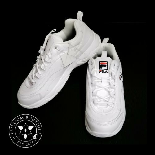 Fila Women's White Disarray Athletic Style Casual Shoes Size: 9 New in Box!! - $79.17
