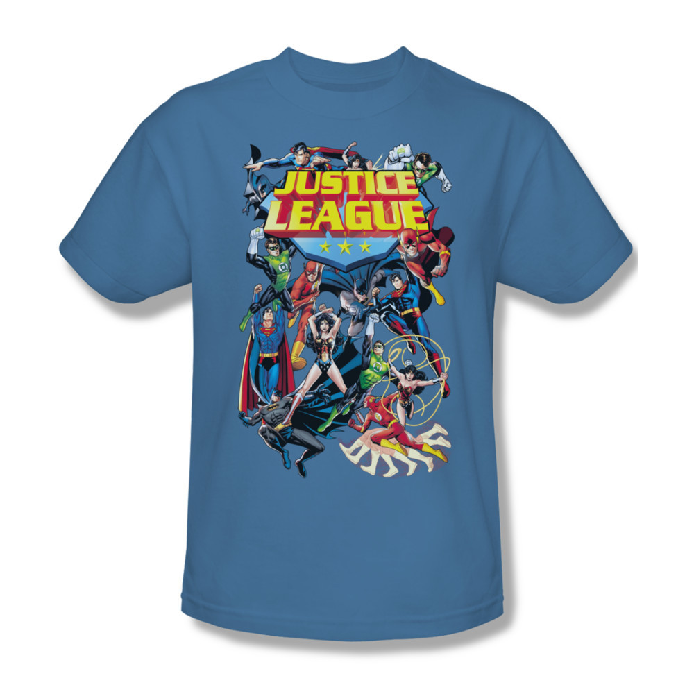 152 at justice league dc comics batman superman wonderwoman flash for sale online graphic tshirt
