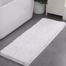 Shaggy Bathroom Rugs Runner Bathroom Floor Mats Carpet Non-SlipWater A... - $28.38