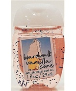Boardwalk Vanilla Cone Pocketbac Antibacterial Hand Gel Bath Body Works - $5.00
