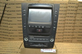 06 Lexus GS300 CD Changer Display Screen Stereo Radio 8611130400 Unit 902-10D2 - $64.99