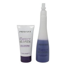 Pravana The Perfect Blonde Purple Toning Masque and Seal & Protect Leave-in - $24.75