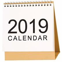 McDoo! 2019 Calendar Desktop Paper Calendar DIY Table Stand Agenda 2018 ... - $12.25