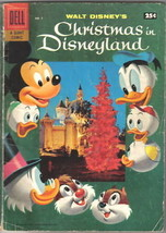 Walt Disney's Christmas In Disneyland Comic #1, 1957 VG - $36.65