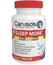 Carusos Natural Health Sleep More 30 Tablets - $72.37