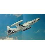 "Lockheed Starfire Interceptor USAF F-94C VTG 14""x11"" Color Print Aircraf... - $19.30"