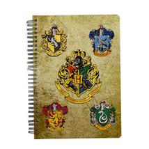 Harry Potter School Crest Notebook Edible image Cake topper decoration - $8.99