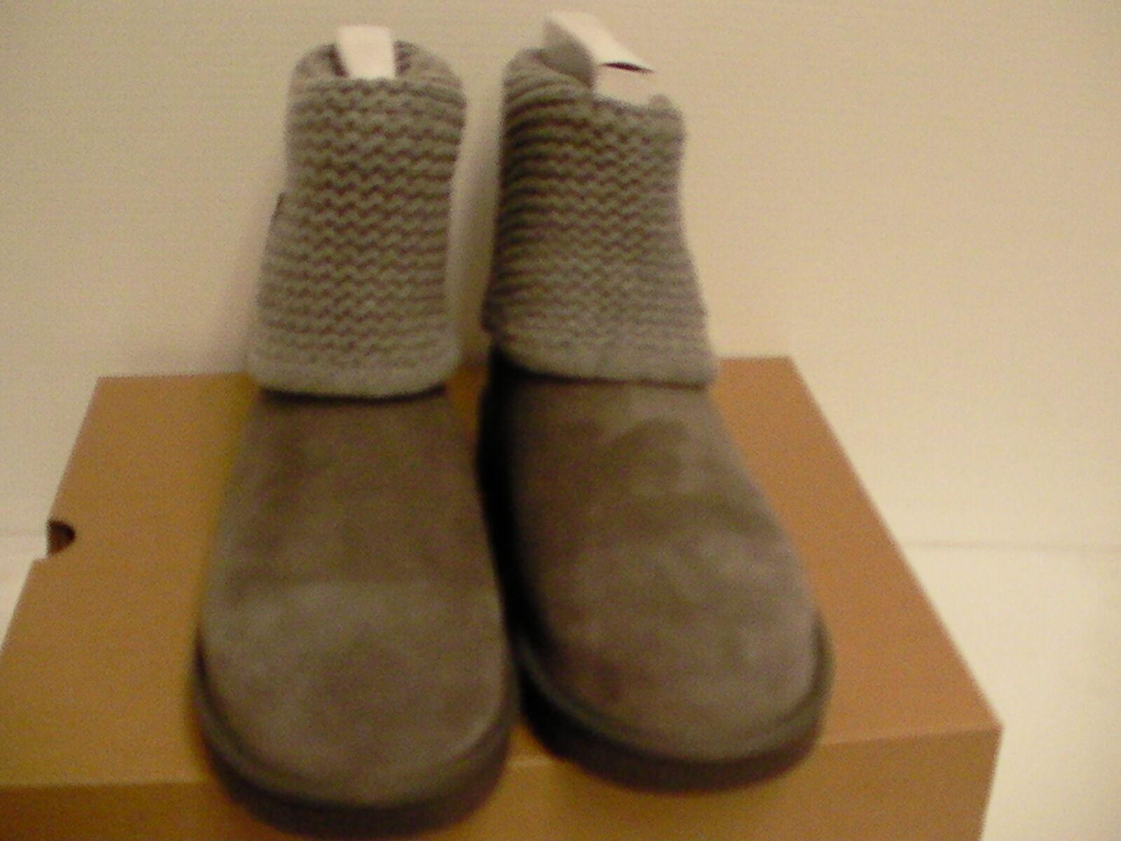 03585859dbf Womens UGG Shaina Grey Gray Knit Boots NEW and 50 similar items