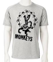 12 Monkeys Dri Fit graphic T-shirt retro 90's Sci Fi movie SPF active sun shirt image 2