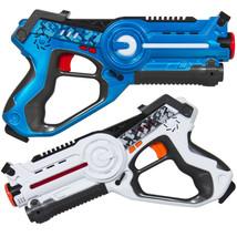 Laser Tag Set for Kids 2 Pack Gun Boys Girls Outdoor Indoor w/ Life Indi... - $52.25