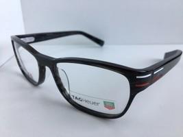 dcb3dc29f5e New TAG Heuer TH 0533 003 52mm Gray Men  39 s Eyeglasses Frame -