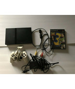 Sony Playstation 2 Slim Console Bundle SCPH-70012 w/ Controller Toy Stor... - $49.96