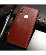 Case For Xiaomi Redmi Note Case Cover Leather Wallet Coque (Brown) - $19.99