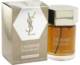 Yves Saint Laurent L'Homme Intense 3.3 Oz Eau De Parfum Cologne Spray image 1