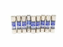 LOT OF 9 NEW COOPER BUSSMANN FNA-5 FUSETRON DUAL ELEMENT FUSES FNA5