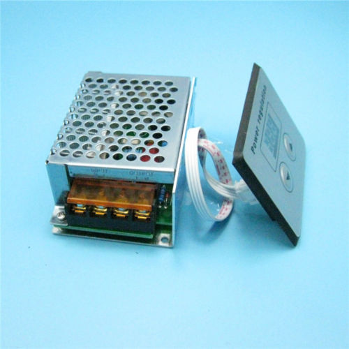 LED-Display AC 220 V 4000 Watt SCR Voltage Controller Light Dim Dimmer Thermo