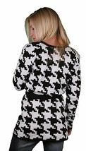 Iron Fist Women's On The Hunt Jacquard Hounds Tooth Cardigan NWT image 2