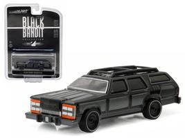 Black Bandit Wagon King 1:64 Diecast Model Car by Greenlight - $14.27