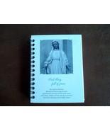 mini note book hail mary full of grace - $11.88