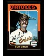 1975 TOPPS #225 BOBBY GRICH EX ORIOLES   - $0.99