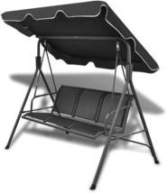 Outdoor Garden Swing Chair Backyard Furniture Seat Backrest Waterproof T... - $193.98