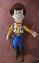 "Sheriff Woody Disney Pixar Toy Story 15"" Plush Talking Works! - $24.99"