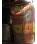 Vintage Hand made Native Southwestern  Shawl Wrap - $84.15