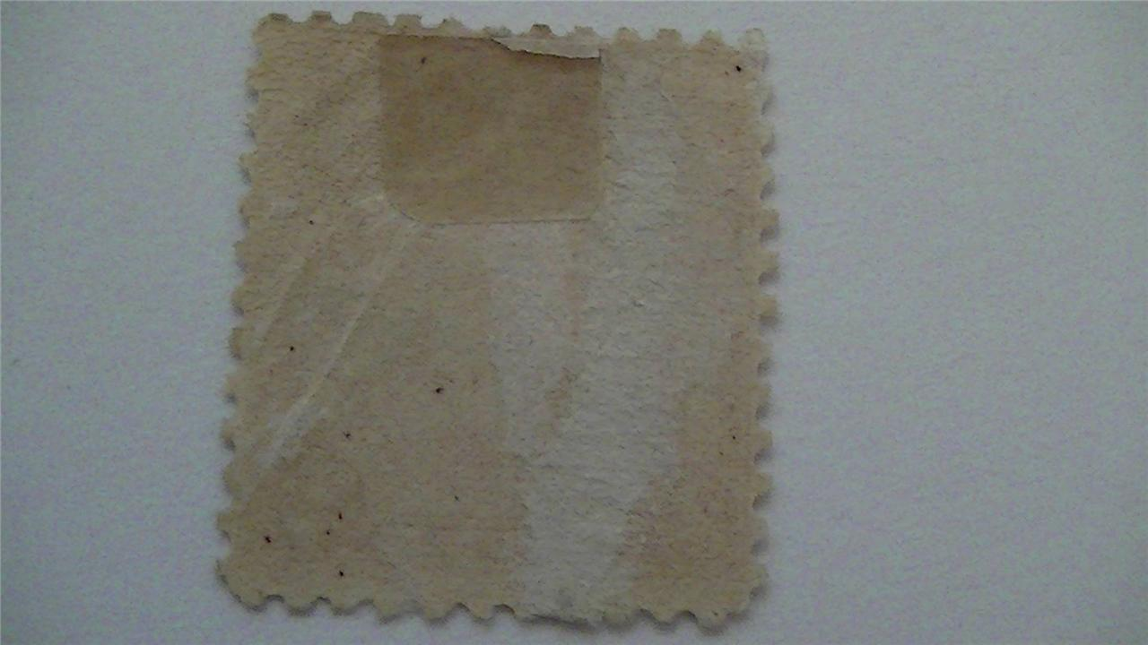 Old Massachusetts Bay Colony Carmine USA Used 2 Cent Stamp