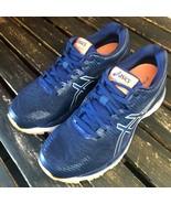 Asics Gel Ziruss 1012A014 Women Running Shoe Blue Sport Athletic Size 8 ... - $49.49