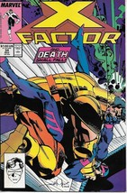 X-Factor Comic Book #34 Marvel Comics 1988 NEAR MINT NEW UNREAD - $2.99