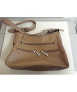 WOMENS Stone & Co Tan Leather SHOULDER HANDBAG Excellent Condition - $17.77