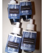 4 Bath & Body Works Succulents & Sandstone Wallflower Home Fragrance Ref... - $25.50
