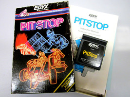 "Atari Computer 400   600   800   1200/XL Game ""Pit Stop"" By Epyx ""Open Box"" - $42.95"