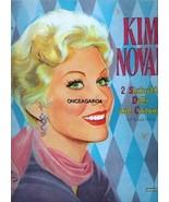VINTAGE UNCUT 1958 KIM NOVAK PAPER DOLLS~#1 REPRODUCTION~BEAUTIFUL SET! - $17.50