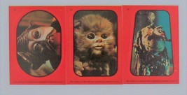 3 Return of the Jedi Stickers Topps Red Border #14,#15,#16 - $1.97