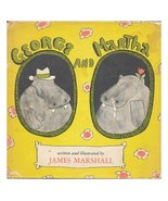George and Martha / Written and Illustrated by James Marshall [Hardcover] [Jan 0 - £8.35 GBP