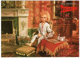 Gerry Anderson's Thunderbirds Lady Penelope Postcard Engale ITC TV - 1988 - $3.50