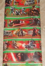 STAR WARS MOVIE FORCE AWAKENS AMERICAN GREETINGS Wrapping Paper 20 SQ FT... - $5.50