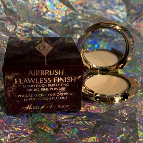 NIB Charlotte Tilbury Airbrush Finish Powder - Trial Mini Deep Shade 3