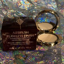 NIB Charlotte Tilbury Airbrush Finish Powder - Trial Mini Deep Shade 3