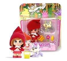 Pinypon Fairy Tales Red Ridinghood with Wolf New in Package - $17.88