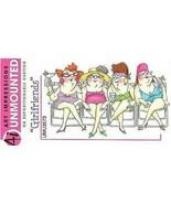 Art Impressions Girlfriends Stamp, #UMU3573 - $13.45