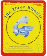 """SuperCut B70.5W38R24 Three Wheeler Bandsaw Blades, 70-1/2"""" Long - 3/8"""" W... - $11.38"""