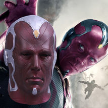 Vision Infinity War Mask Cosplay 2018 Avengers 3 Full Head Vision Mask - $28.00