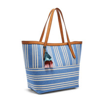 fossil woman classical genuine Jeanne Beach Tote - $54.00