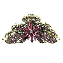 Stylish Hair Accessory Hair Clips Crystal Retro Updo Hairpin Durable Hair Grip T - $11.91