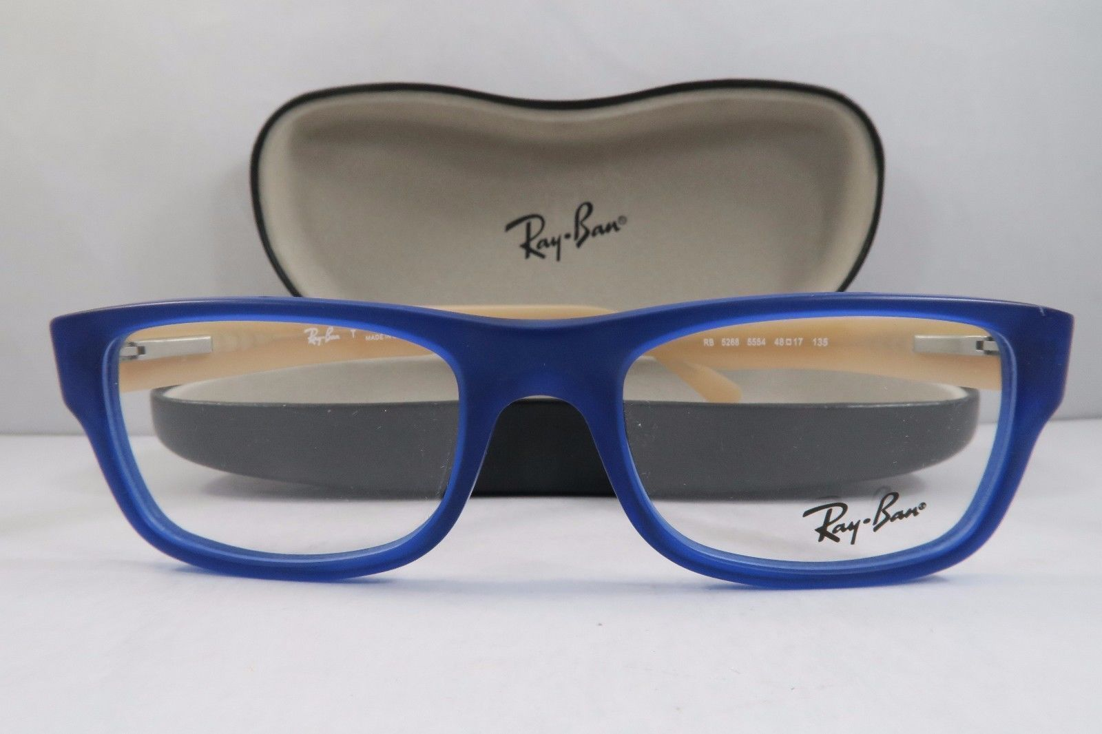 1d03d7ba5b Ray-Ban RB 5268 5554 Blue Peach New and 50 similar items. S l1600