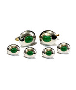 925 Sterling Silver Natural Fine Quality Emerald Gemstone Handmade Desig... - $269.99